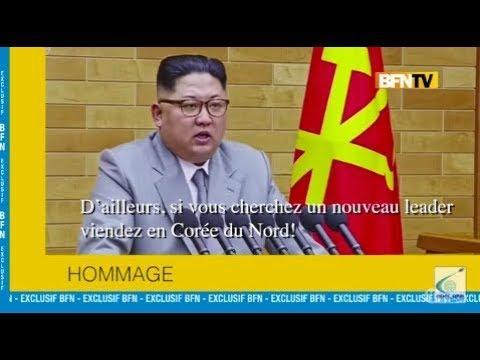 Les hommages des chefs  d'état du monde entier - Groland Le Zapoï du 14/04 - CANAL+