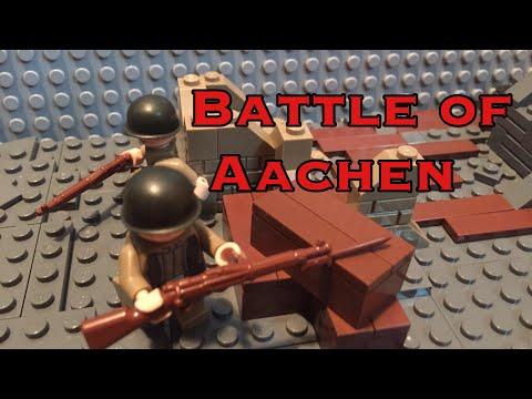 LEGO WWII MINI MOC: THE BATTLE OF AACHEN