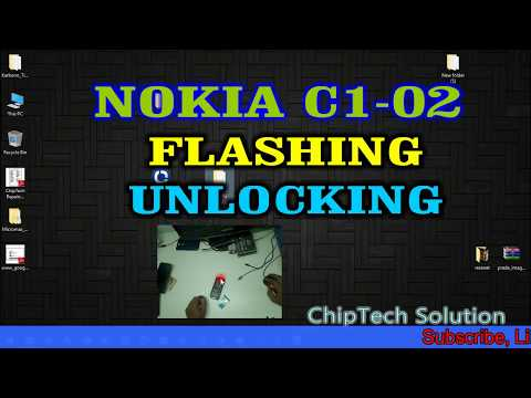 NOKIA C1-02 FLASHING & UNLOCKING VIDEO