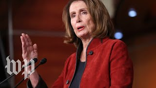 Pelosi holds a news conference