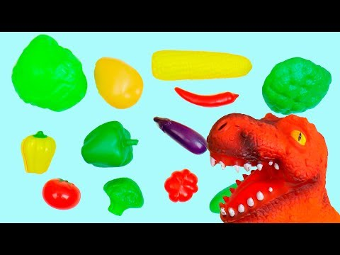 Thumbnail: Learn Colors for Kids with Color Vegetables Educational video for Children Toddlers Babies Coloring