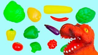 Learn Colors for Kids with Color Vegetables Educational video for Children Toddlers Babies Coloring