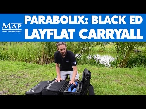 MAP Parabolix: Black Edition Layflat Carryall