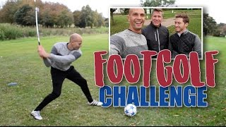 THE ULTIMATE FOOTGOLF CHALLENGE!