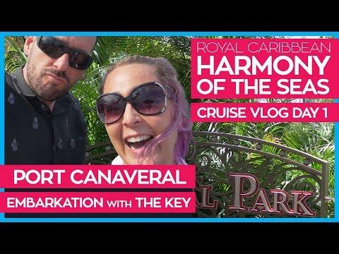 Harmony of the Seas | Boarding the Ship & The Key Program | Royal Caribbean Cruise Line Vlog Day 01 Mp3