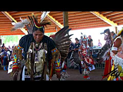 Grand Entry of the Pow-Wow @Indian Encampment - Omak WA 2010