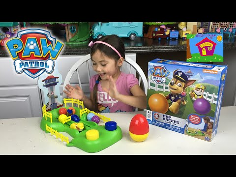 Thumbnail: EPIC PAW PATROL GAME PUP RACERS Surprise Egg Wolverine Disney Frozen Kids Toys Surprise Toy Opening
