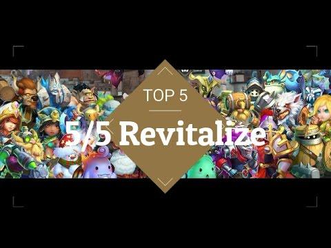 Castle Clash Revitalize Top 5
