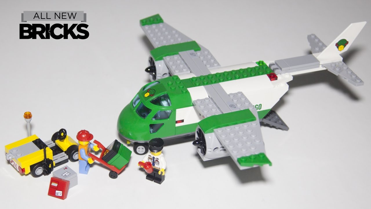 Lego City 60101 Airport Cargo Plane Speed Build - YouTube