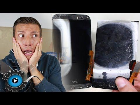 HTC One M8 Glas Display Wechseln Tauschen Reparatur [Deutsch] Disassembly