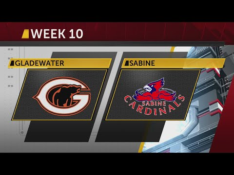 Gladewater vs Sabine