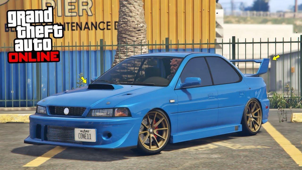 GTA 5 Online HIDDEN UNRELEASED CAR - KARIN SULTAN CLASSIC Customization &  Test | CASINO HEIST DLC