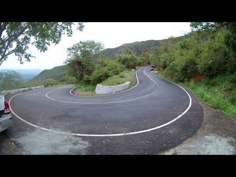 Ooty to mysore road ( masinagudi route) 36 hairpin bends road, shot on eken H9R