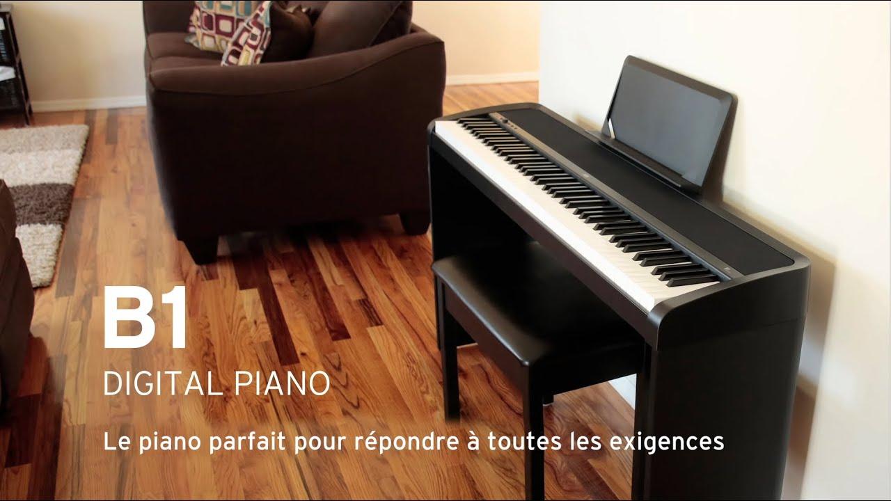 Piano Digital Korg B1 De 88 Teclas Con Mesa # Muebles Digitales