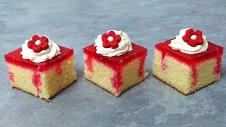 how to make jello cake bites