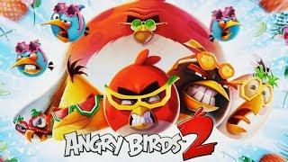ЗЛЫЕ ПТИЧКИ СНОВА В ДЕЛЕ Игровой мультик для детей про злых птиц Игра Angry Birds 2