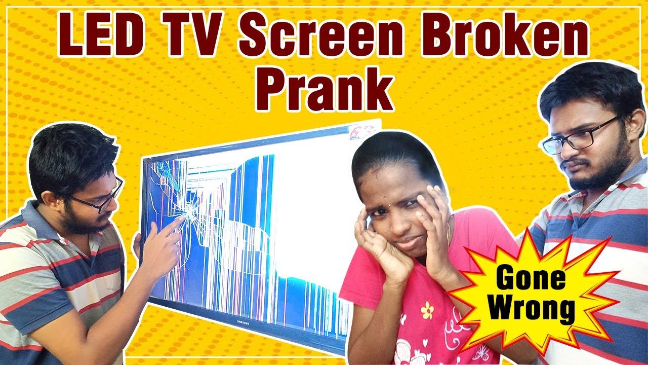 LED TV Broken Prank Gone Wrong - Vlogs in Tamil - Nan En Maganum