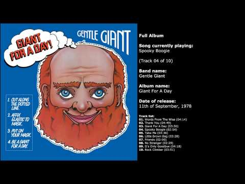 Gentle Giant - Giant For A Day (Full Album)