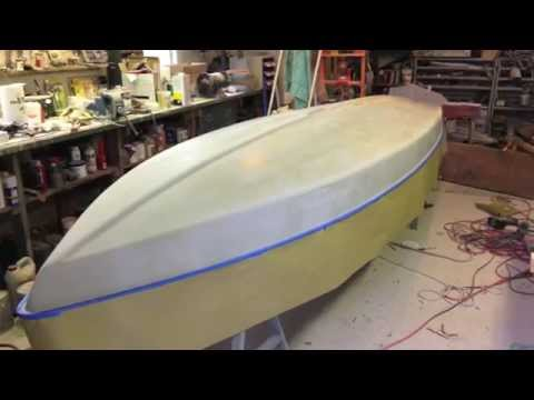 Shoreline Sailboats Sunfish Hull Repair Method