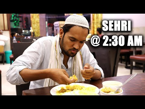 Early morning Sehri at 2:30 Am in Hyderabad Ramzan Special  