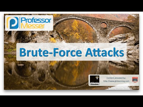 Brute Force Attacks - CompTIA Network+ N10-006 - 3.2