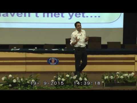 An Inspirational & Motivational Speech by Amit Pandey