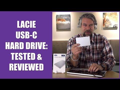 LaCie Porsche Design USB-C Hard Drive -- TESTED & REVIEWED