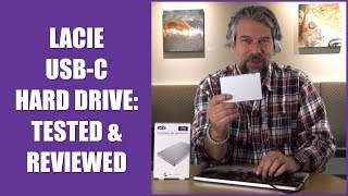 LaCie Porsche Design USB-C Hard Drive -- TESTED & REVIEWED