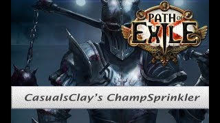 Path of Exile [3.2] Molten Strike Champion build with Brutus Lead Sprinkler