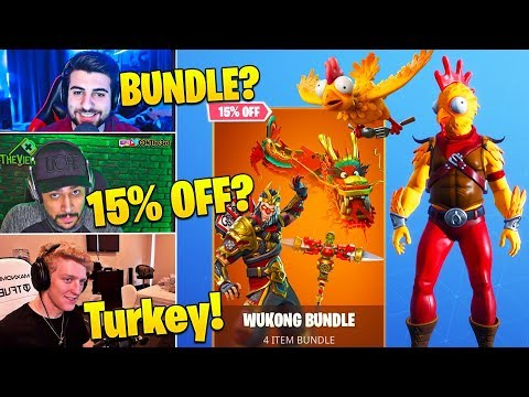Streamers LOVE *NEW* Tender Defender and SKIN BUNDLES! - Fortnite Funny Moments thumbnail