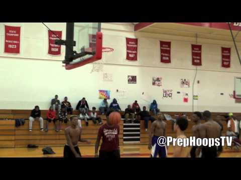 Michigan State commit Deyonta Davis 2015 Muskegon Big Reds highlights