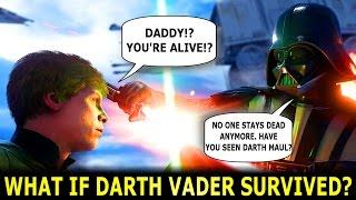 What If Darth Vader / Anakin Survived Episode 6?