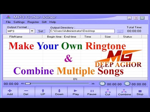 HOW TO USE MP3 CUTTER JOINER