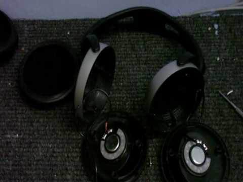 cdc electronic workshop s1 ep 2 - improoving the philips shp2500 headphones  - youtube