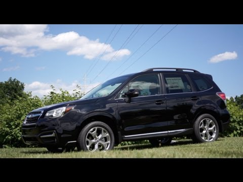 2017 Subaru Forester Touring Walkaround