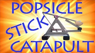 Popsicle Stick Catapult