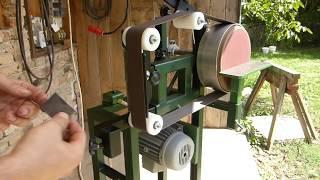 Making belt Grinder and Disk Sander two in one(2*72