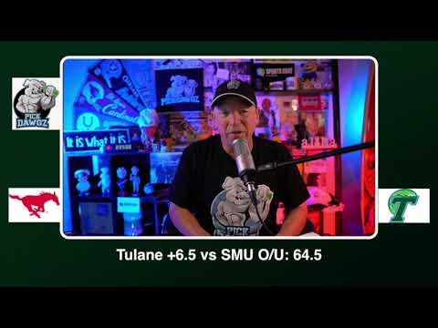 Tulane vs SMU Free College Football Picks and Predictions CFB Tips Friday 10/16/20
