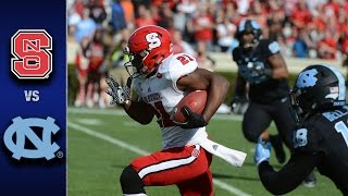 Nc state vs. north carolina: the wolfpack went into chapel hill and upset tar heels, 28-21. carolina's chances for a berth in acc championship game w...