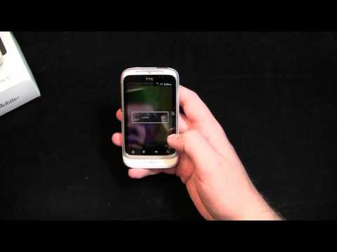 HTC Wildfire S Unboxing