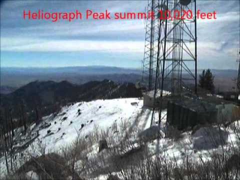 Heliograph Peak snow hike