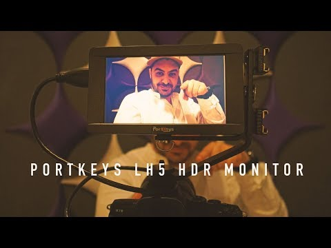 PortKeys LH5 1500nit HDR Touch Monitor With Camera Control | Best Monitor For Sony A7III | RehaAlev