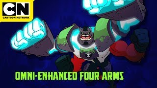 Ben 10 | Omni-Enhanced Aliens | Four Arms