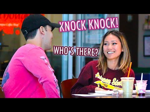 """""""Knock-Knock"""" Pick up Lines!"""