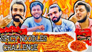 2x Spicy Noodles Challenge  for the first time
