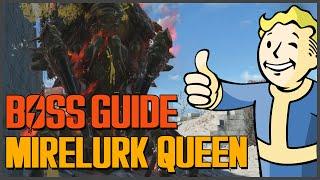 Fallout 4 First Boss Mirelurk Queen Guide