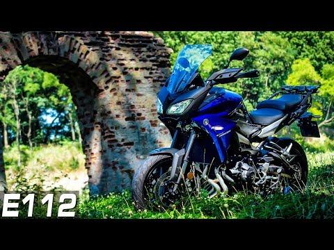 """Deżawju, """"Pierwszy"""" Raz i Bolesne Miesiączkowanie... ;D    Maszyna u LucZyna #8   Yamaha Tracer 900"""