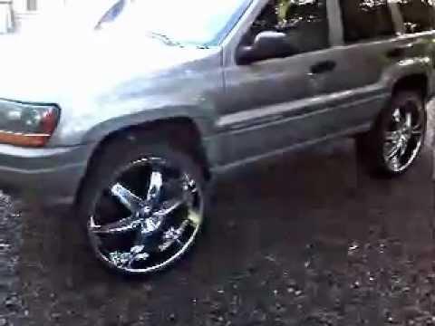 Jeep Grand Cherokee Tires >> JEEP GRAND CHEROKEE ON 26'S - YouTube