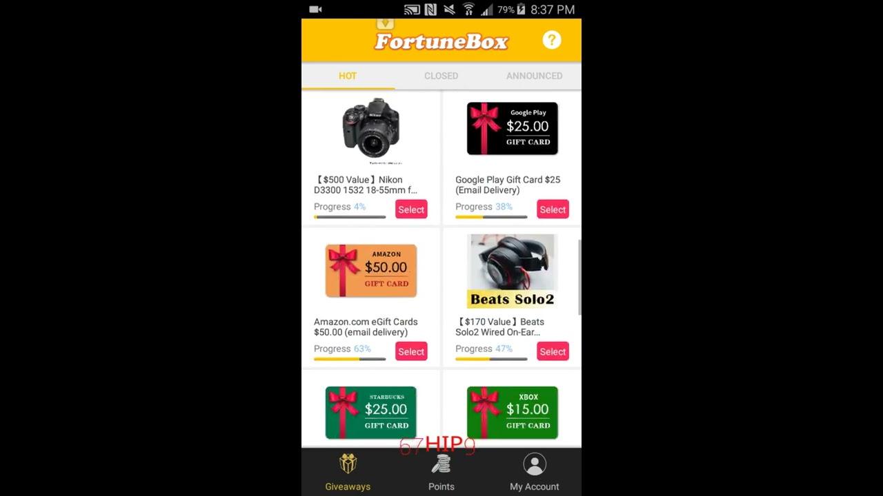 Fortune Box App