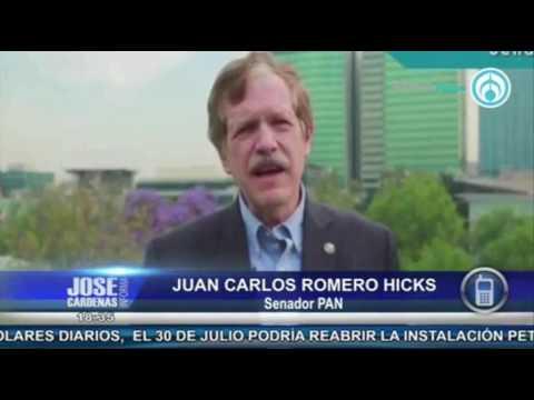 Juan Carlos Romero Hicks Senador Pan En Entrevista Con